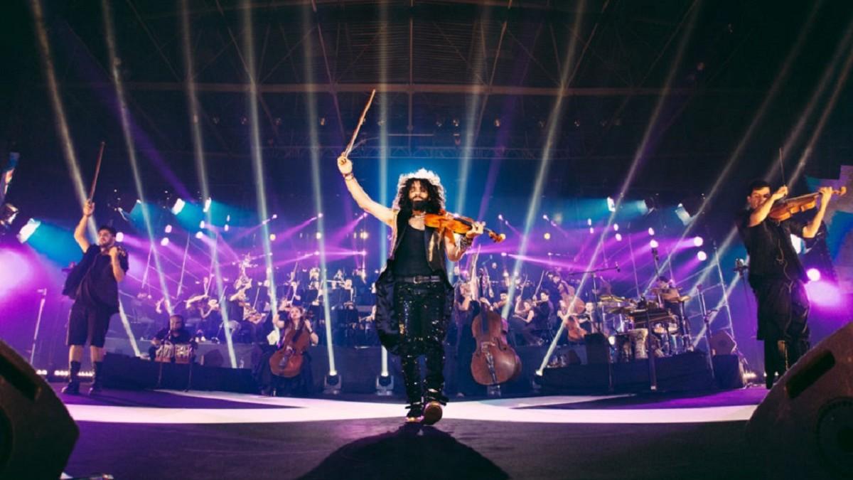 Ara Malikian y su violín, dos conciertos navideños que no hay que perderse