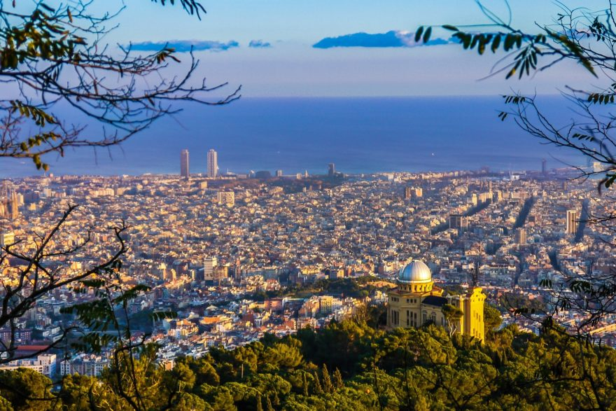 Barcelona Vistas Tibidabo