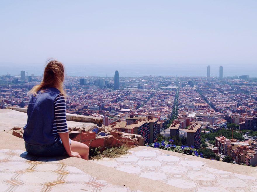 Barcelona Chica Tibidabo