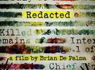 Aparece el nuevo poster de «Redacted» (Redactado)