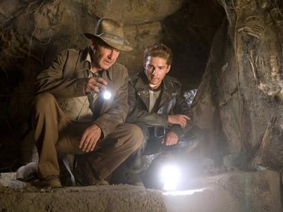 Estreno del trailer de Indiana Jones y el reino de la calavera de cristal
