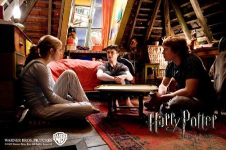 Harry potter y el principe mestizo imagen oficial