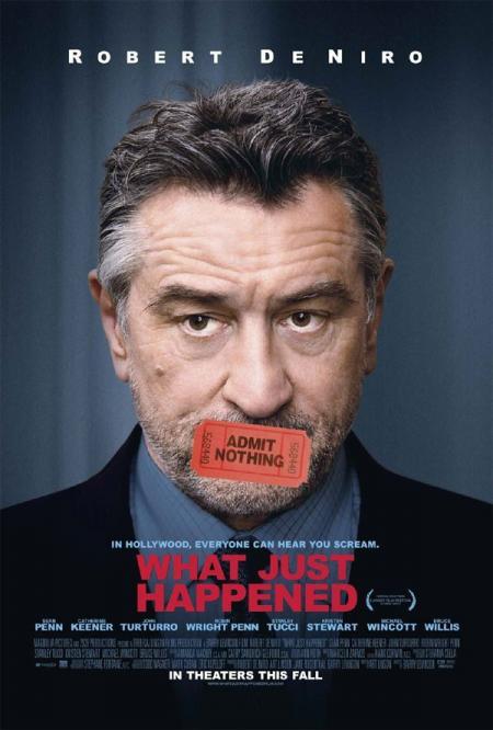 Póster de 'What Just Happened', De Niro y Hollywood