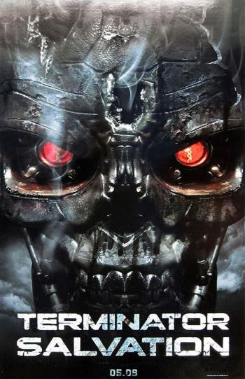 Primer póster de 'Terminator Salvation'