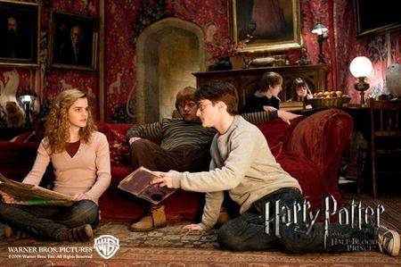 hermione en harry potter y el principe mestizo: