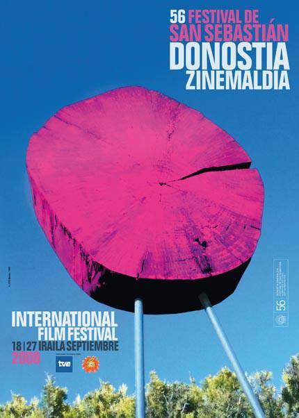 Póster 56 edición del Festival de Cine de San Sebastián