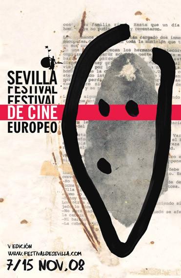 Cartel Festival de Cine Europeo de Sevilla 2008