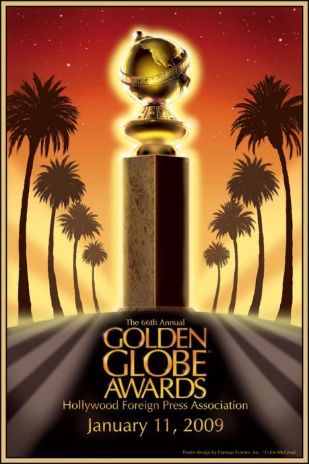 Cartel oficial de los Globos de Oro
