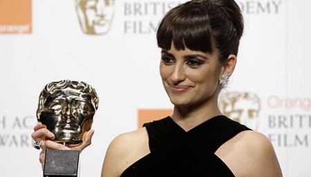 Penélope Cruz se lleva el BAFTA  a mejor secundaria