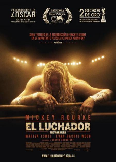 Póster y trailer español de El luchador