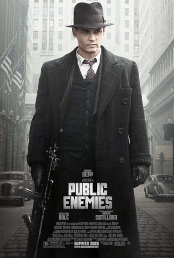 Poster Public Enemies