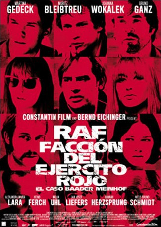 Póster español de RAF: Facción del Ejército Rojo