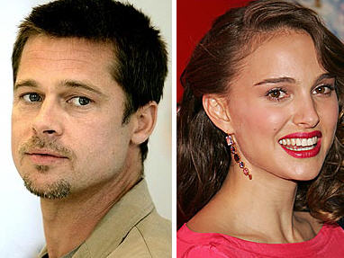Brad Pitt y Natalie Portman