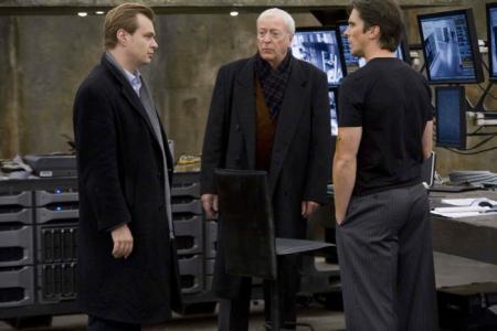 Michael Caine y Nolan