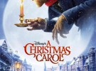 Póster de A Christmas Carol, Carrey es Scrooge CGI