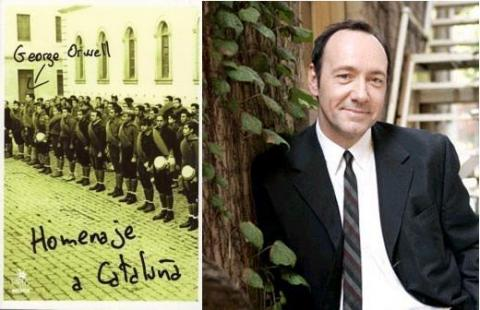 Homenaje a Cataluña: Spacey