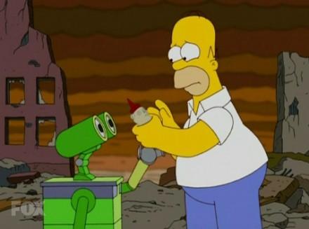 Los Simpson Wall-E