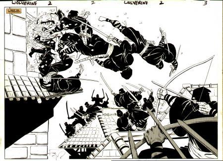 Lobezno vs. Samurais