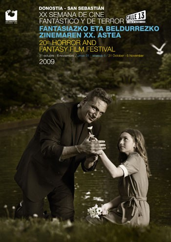 Loquillo, protagonista del póster de la Semana de Cine Fantástico y de Terror de Donostia