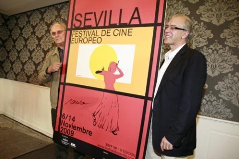 presentación del cartel Sevilla Festival de Cine Europeo