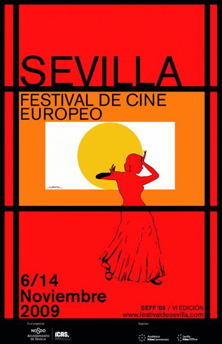 Cartel Sevilla Festival de Cine Europeo 2009