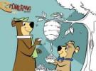 Ho ho ho, Dan Aykroyd y Justin Timberlake roban cestas en El Oso Yogi