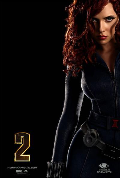 Poster Iron Man 2 Scarlett Johansson