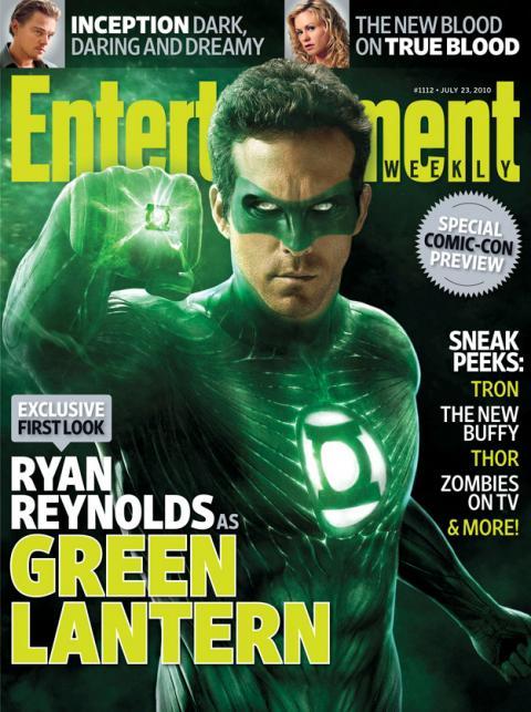 Primeras imágenes de Ryan Reynolds como el superhéroe Green Lantern