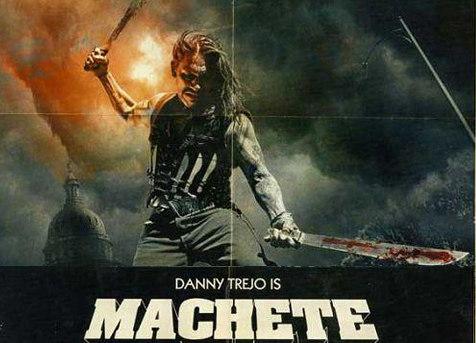 Machete de Robert Rodríguez, anuncios de los personajes para televisión