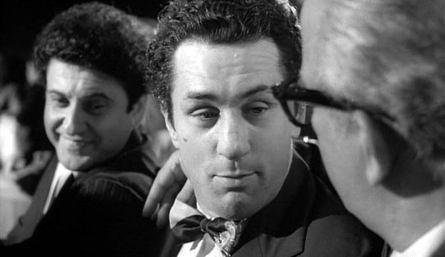 Robert De Niro y Joe Pesci con Scorsese