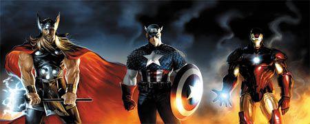 iron man thor capitan america