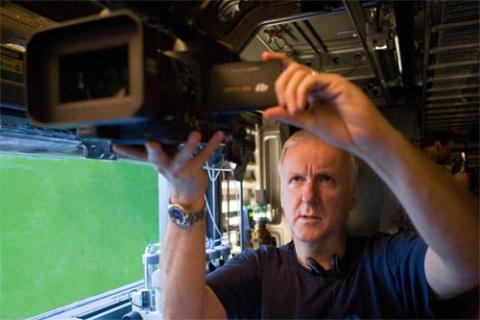 James Cameron rodando Avatar