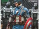 Marvel-News: Primer vistazo a los trajes del Spiderman de Andrew Garfield y el Capitán América de Chris Evans