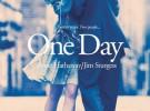 Póster de One Day, Anne Hathaway y Jim Sturgess enamorados