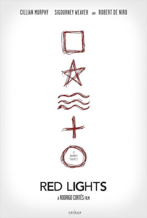 Teaser póster de Red Lights