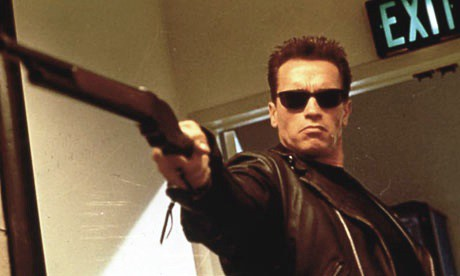 Arnold Schwarzenegger en Terminator 2