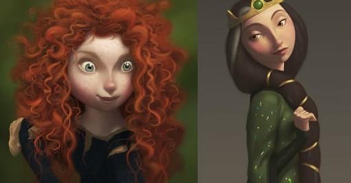 Teaser Tráiler de Brave, el cuento de hadas made in Pixar