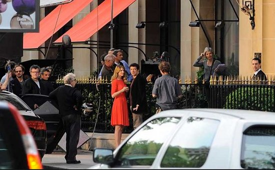 Woody Allen en Paris Manhattan