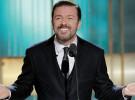 Ricky Gervais vuelve a presentar los Globos de Oro, Hollywood tiene sentido del humor
