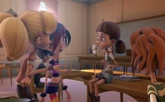 Dixie y la rebelión de los zombies, entretenida animación española