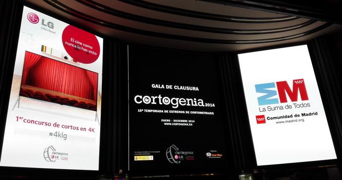 Cortogenia y LG premian los mejores cortos españoles