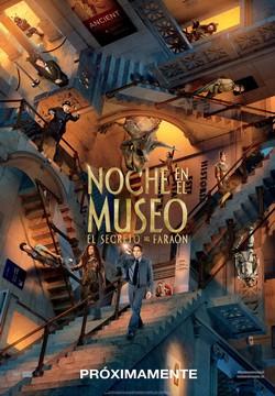 Noche en el museo: el secreto del Faraón. Más de lo mismo