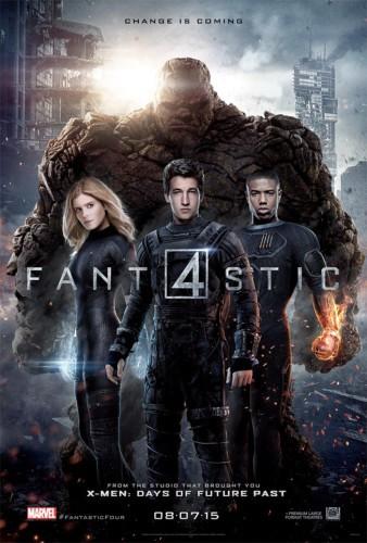 FantasticFour2015 poster
