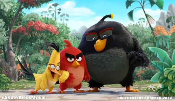 The Angry Birds presenta las primeras imágenes de la película de animación