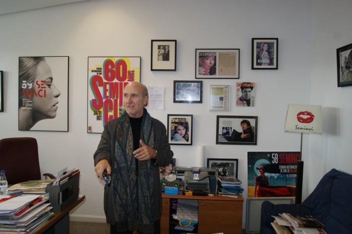 Javier Angulo director Seminci