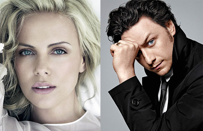 Charlize Theron James McAvoy