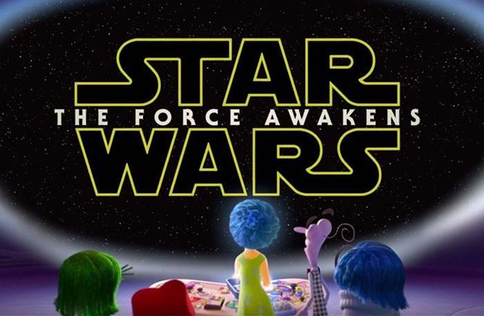 Del revés Star Wars el despertar de la fuerza