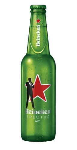 Heineken Spectre Limited Edition Bottle 33cl