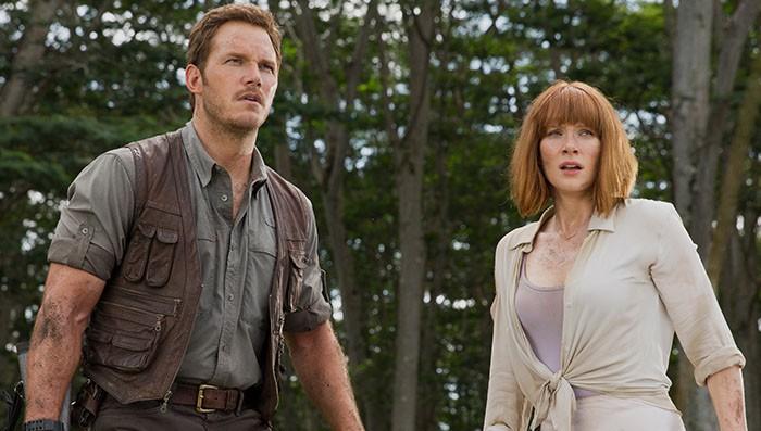 Jurassic World Chris Pratt Bryce Dallas Howen