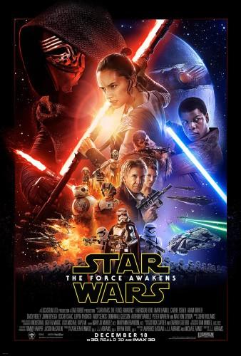 Star Wars El despertar de la fuerza poster